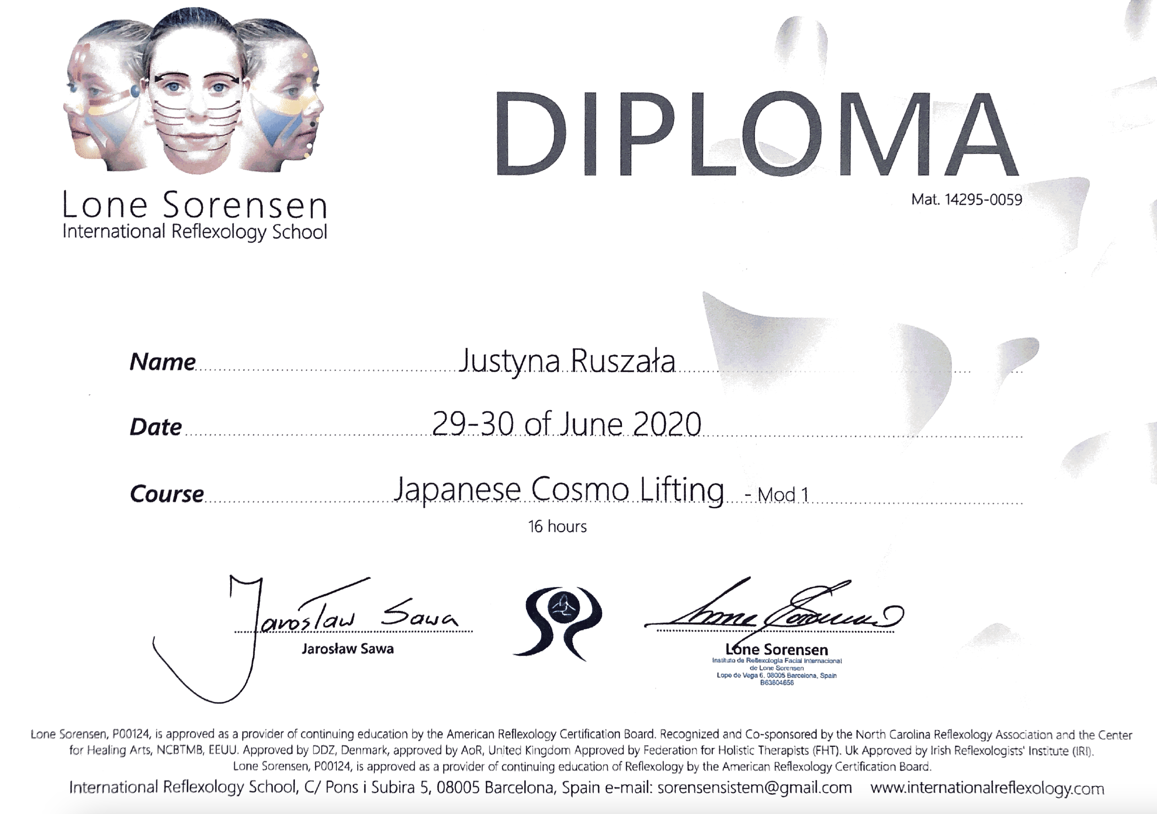 Japanese Cosmo Lifting
